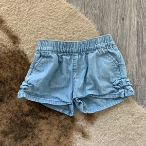 5 items for $30 Carters denim shorts